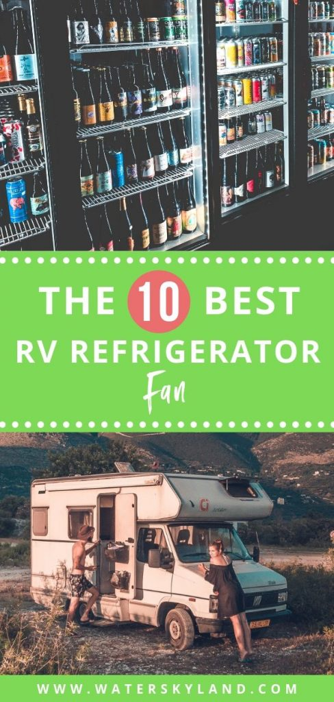 Looking for a better way to keep your RV refrigerator in working condition? Check out the best RV refrigerator fans on the market for you. #rvfans #rv #outdoorliving #outdoors #camping #rvs