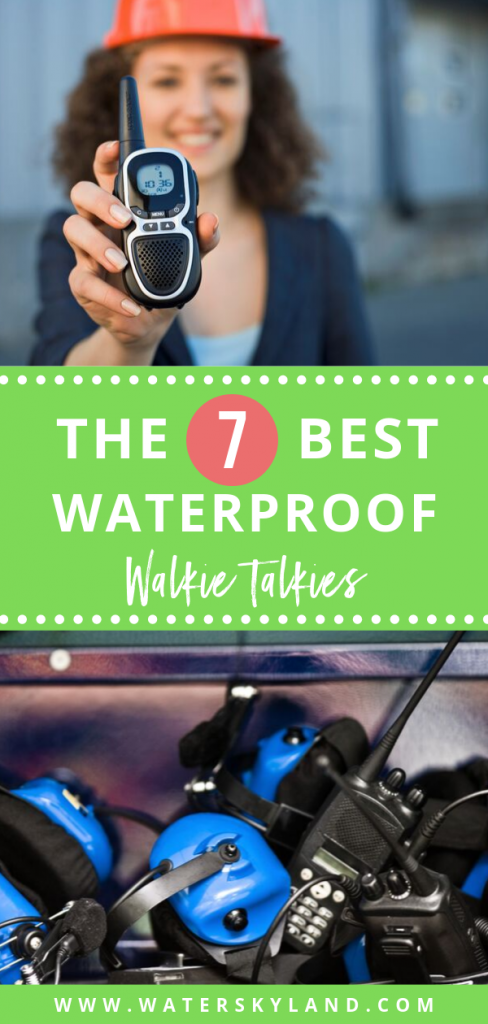 Choosing the best waterproof walkie talkie for your next outdoor adventure can be challenging, but we have attempted to take out some of the leg work. #walkietalkie #waterproofradio #waterproof #outdoors #outdoortools
