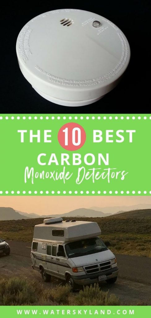 Keep your RV Safe with these best carbon monoxide detectors. We've compiled the ultimate list for your so you can shop with ease! #carbonmonoxide #detector #rv #rvtools #rvliving #outdoors