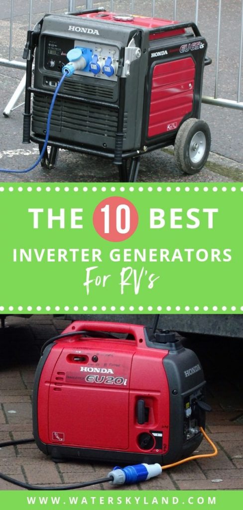 Looking for a generator that will last on your next road trip? Check out the best inverter generators for travel trailers and see what fits your needs. #rv #rvliving #invertergenerators #rvtools #outdoors