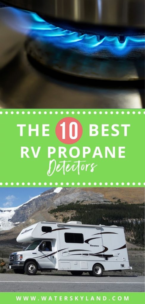 Planning an epic trip this summer with your RV? Don't forget to check your propane tank with the best RV propane detectors on the market! #propane #propanerv #rvpropane #rvtools #rvliving #outdoors