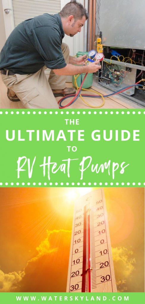 Looking for the best rv heat pumps? We've got you covered for the winter. #rvheatpumps #rv #rvtools #rvliving #outdoors