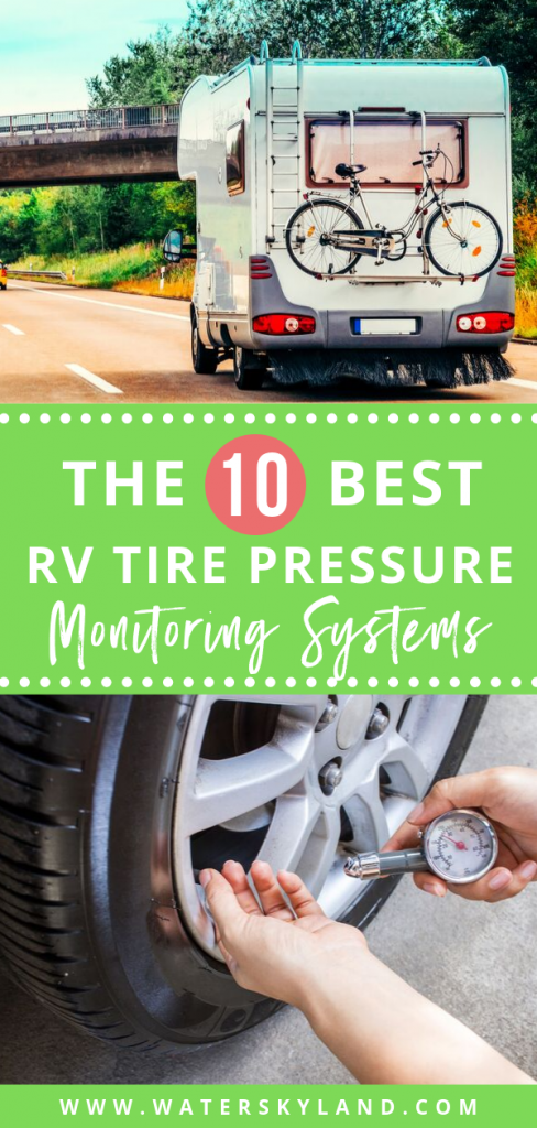 It's important to have the best RV tire pressure monitoring systems out there to keep your motor vehicle in tip-top condition. #tirepressure #rvtires #rvliving #rvtools #rvtirepressure #outdoors